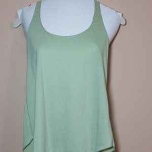 Racer Back Tank - Sage Green